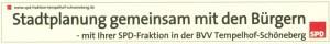 Anzeige SPD-Fraktion