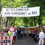 Eingang zum Straßenfest
