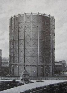 Gasometer IV um 1913