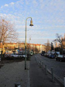 Torgauer Straße Kreuzungspunkt Planstraße