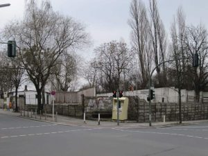 Blick auf Grundstück Torgauer Straße 24-25 / Ecke Gotenstraße